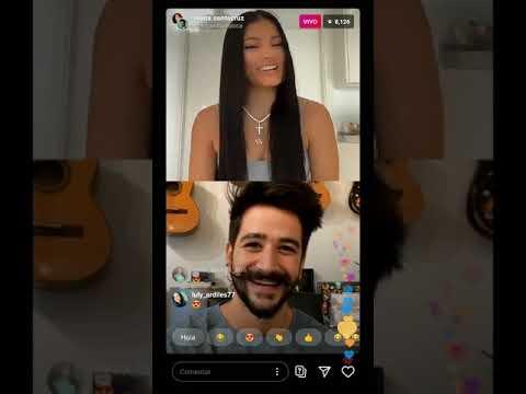 Camilo Echeverri y Ivana Santacruz  Instagram