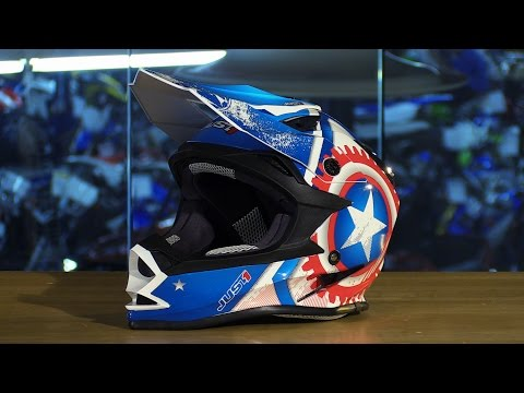 Just1 J32 Motostar Merica Motorcycle Helmet Review