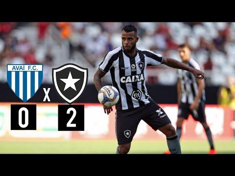 Avai 0x2 Botafogo | MELHORES MOMENTOS | Campeonato Brasileiro | 04/08/19