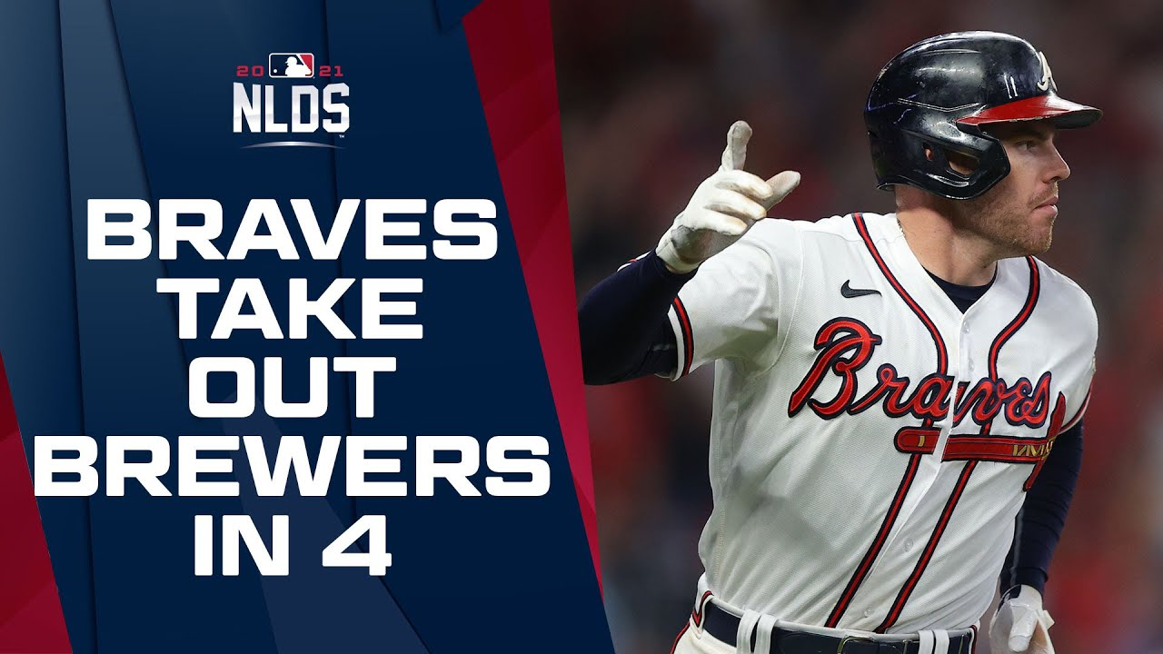 Download Braves upset Brewers in 4 games to start out NL Postseason matchups! | NLDS Game Highlights