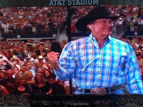 George Strait Final Show(Arlington-AT&T Stadium)