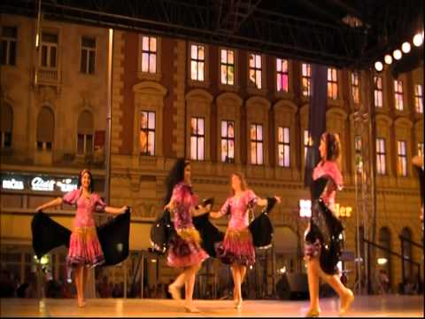 "Egyptian national Folklore dance Troupe""Al Kaomeyya"",Cairo,Egypt : Ples iz Egipta /part 2/"