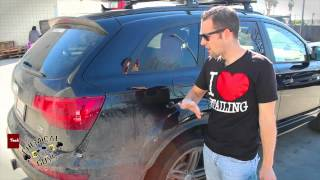 Waterless Washing HEAVY DIRT & ROAD GRIME - Chemical Guys ECOSMART Audi Q7 DIRTY(ECOSMART RU http://www.chemicalguys.com/ProductDetails.asp?, 2013-01-09T19:56:38.000Z)