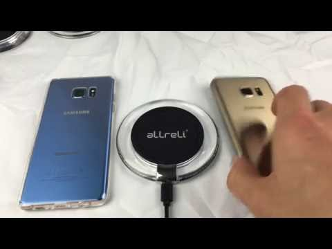 Inexpensive Fast Wireless Qi Charging Pad for Galaxy Note 7, S7, S7 Edge, Note 5, S6 Edge Plus, etc
