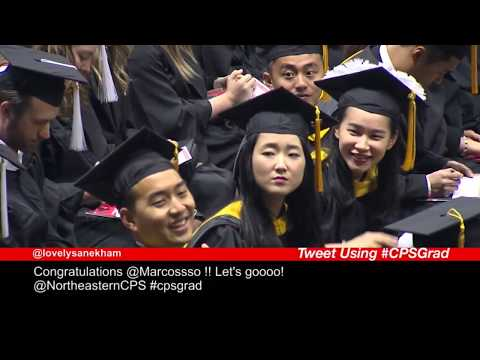 Northeastern University College of Professional Studies 2017 Graduation
