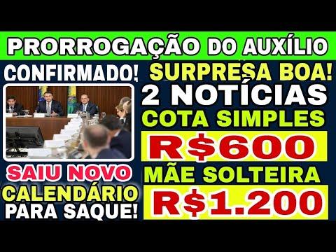 🔴MELHOR NOTÍCIA DO DIA! VOLTA DOS R$ 600, MÃE SOLTEIRA R$ 1.200 SAIU CALENDÁRIO DE SAQUE DO AUXILIO