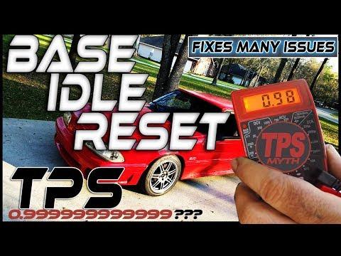 CLEAN SLATE / FOXBODY BASE IDLE RESET / TPS ADJUSTMENT