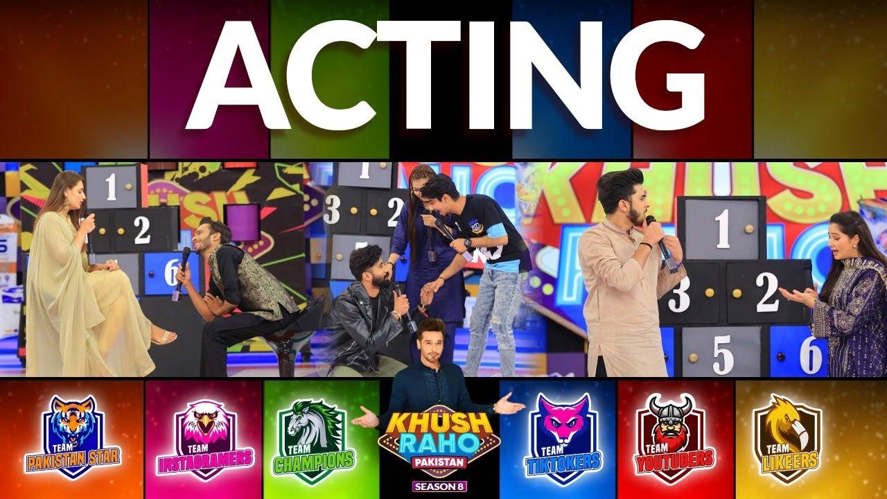 Download Acting   Khush Raho Pakistan Season 8   Faysal Quraishi Show   TikTok