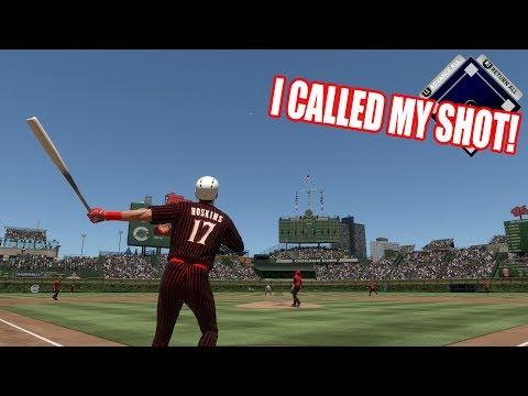 I CALLED MY SHOT!  - MLB The Show 17 Battle Royale Diamond Dynasty Gameplay