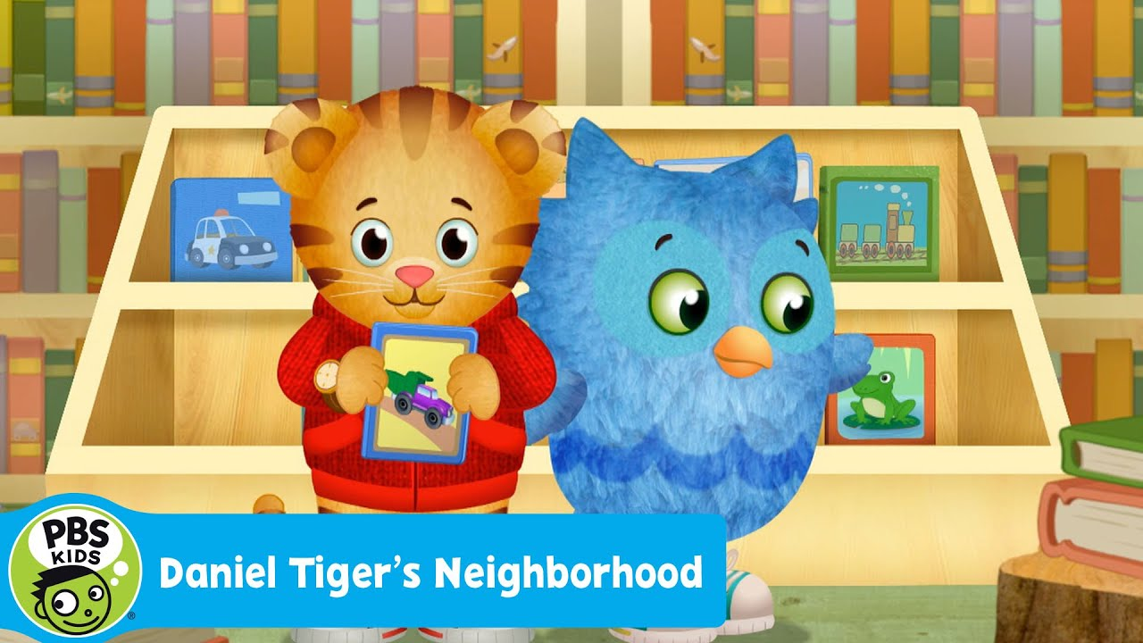 DANIEL TIGER\'S NEIGHBORHOOD | So Many Books at the Library | PBS ...