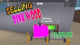 Can You Sell the Pink Wood (The Wood Dropoff)!? | Lumber Tycoon 2 ROBLOX