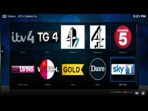 how to delete iptv channels off kodi