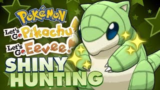 LIVE SHINY SANDSHREW HUNTING! Pokemon Lets Go Pikachu & Eevee Shiny Hunting Live w/ FeintAttacks!