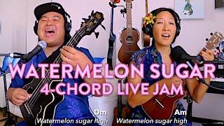 🍉Watermelon Sugar Ukulele Play-Along // Cynthia Lin x Ukulenny