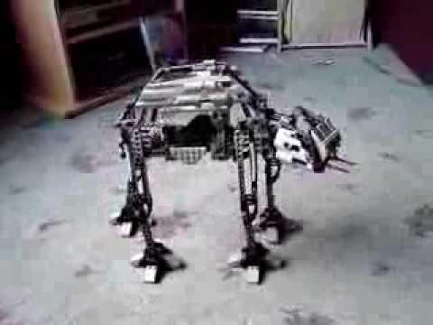 Star wars at at robot youtube - Robot blanc star wars ...