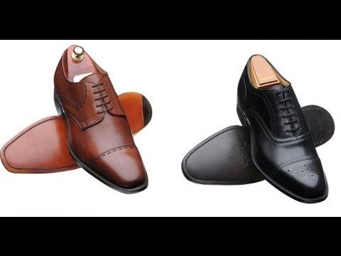 Туфли мужские - Посылка из Китая [№77] Men shoes AliExpress - YouTube