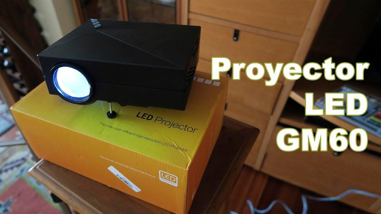 Gm60 proyector led barato para montar un cine en casa - Montar un cine en casa ...