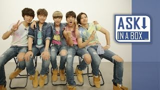 ASK IN A BOX: B1A4(비원에이포) _ SOLO DAY(솔로데이) *English & Japa...