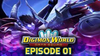 Digimon World Data Squad - Ep 1 - Walter Island + GeoGreymon & Tyromon(Boss)!!!