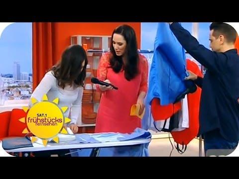 Bügeln leicht gemacht mit der Bügel-Meisterin | Sat.1 Frühstücksfernsehen thumbnail