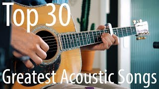 Download TOP 30 songs for ACOUSTIC guitar!