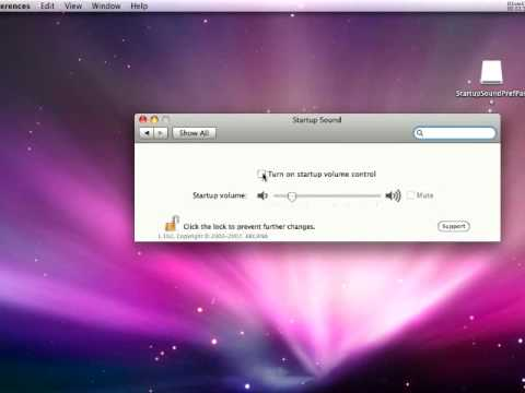 How To Turn Off Disable Macs Startup Sound
