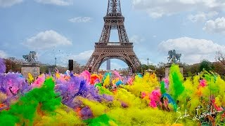 COLOR RUN PARIS 2016 : Color Festival 4K