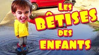 LES BÊTISES DES ENFANTS! ANGIE LA CRAZY SÉRIE