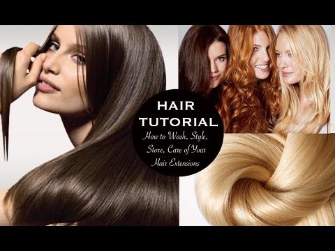 The posh hair tutorial how to clip wash care of your hair the posh hair tutorial how to clip wash care of your hair extensions pmusecretfo Images