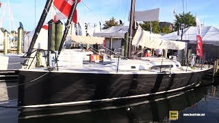 2017 J-Yachts J121 - Walkaround - 2017 Annapolis Sail Boat Show
