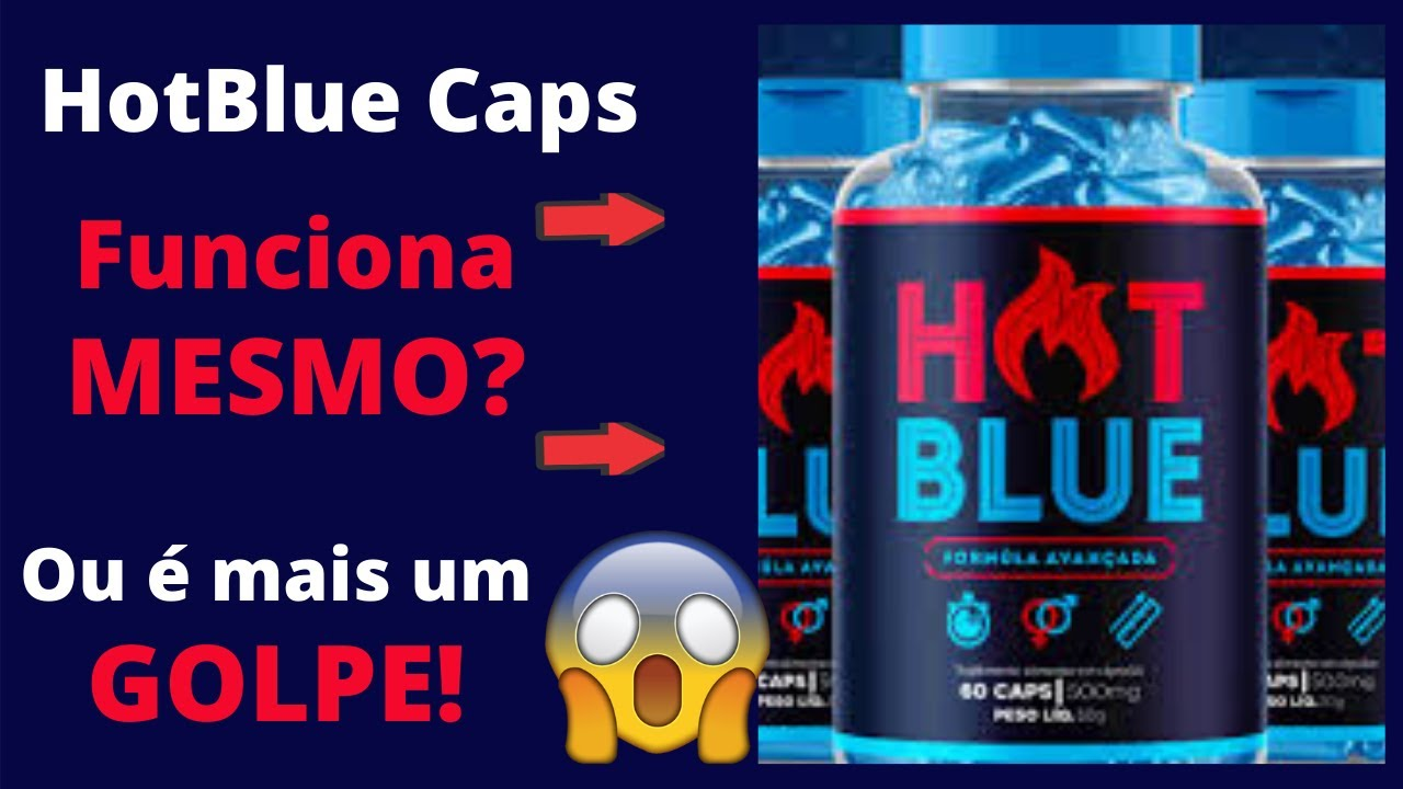 hotblue caps bula
