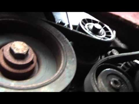 peugeot 406 coupe wiring diagram how to replace an auxiliary drive belt and a crankshaft