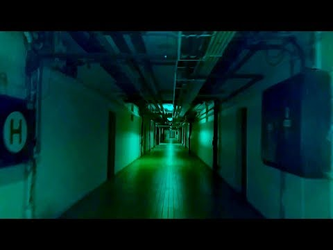 Spooky hospital URBEX - tunnels, bunker, old lift, escalator, x-rays, biohazard...
