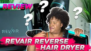 How I Blow Dry My Natural Hair With NO Damage Using A Revair! | Full Device Tour + Review
