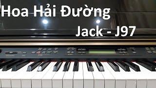 Hướng dẫn HOA HẢI ĐƯỜNG - Jack | Piano Cover Easy | Đinh Công Tú