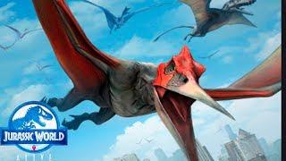 Птеранодон и Аланка легендарные птерозавры Jurassic World Alive