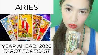 YEAR AHEAD 2020: ARIES (LIVE TAROT READING) by RJ Marmol | TheWokeWay.org