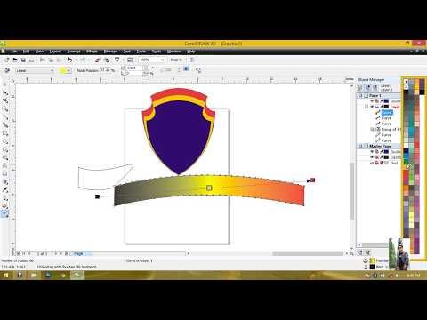 Tutorial Cara membuat logo dengan corelDraw