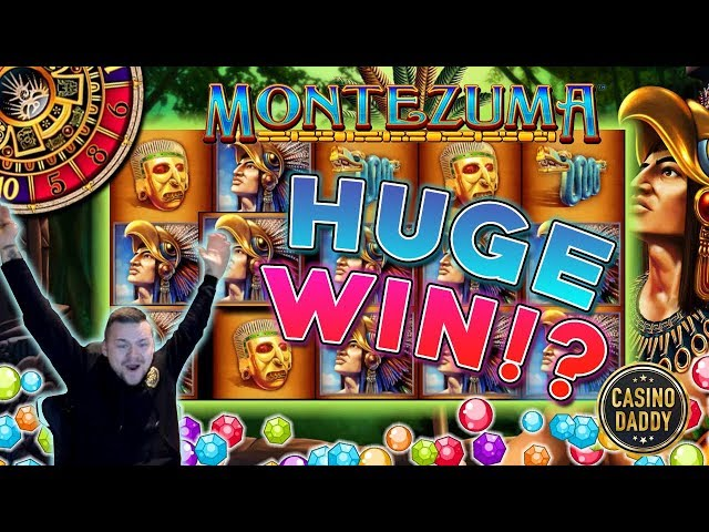 Montezuma Big win - Huge win on Casino Games - free spins (Online Casino)