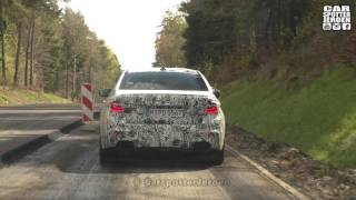 SPYVIDEO | Chasing the new BMW M5 F90 during roadwork!