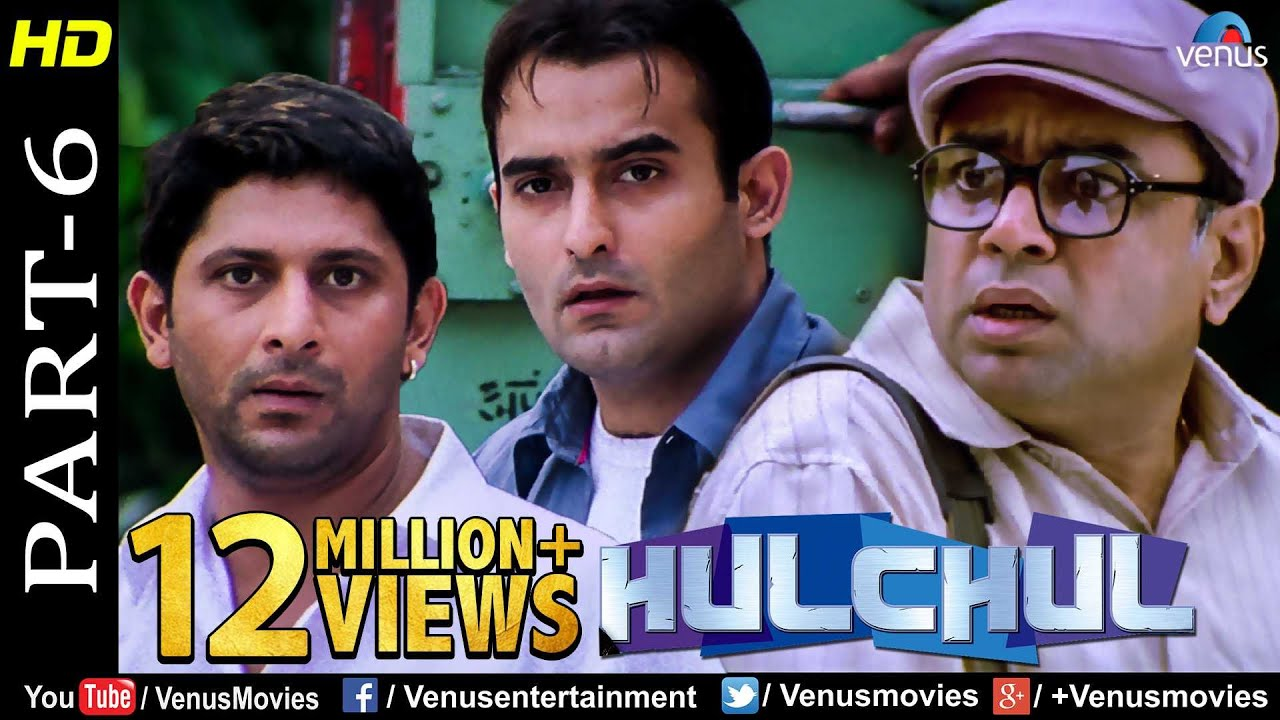 Hulchul - Part 6 | Paresh Rawal, Akshaye Khanna & Arshad Warsi | Best Comedy Movie Scenes