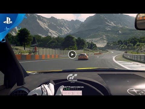 PlayStation VR - Feel Them All - Gran Turismo Sport :30