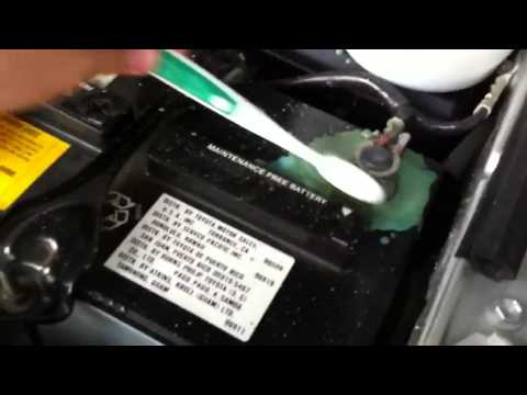 What Does Corrosion On A Car Battery Mean