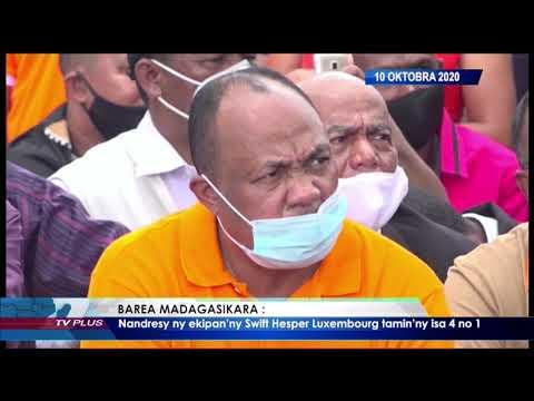 VAOVAO DU 10 OCTOBRE 2020 BY TV PLUS MADAGASCAR