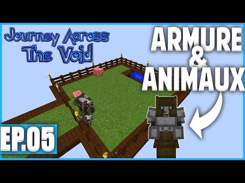 ON FAIT APPARAÎTRE DES ANIMAUX ! | Minecraft Moddé - Journey Across The Void | Ep# 5