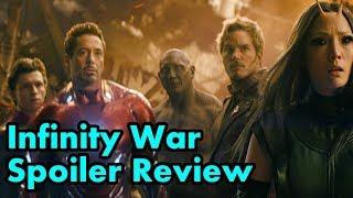 Marvel's Infinity War - Spoiler Review!