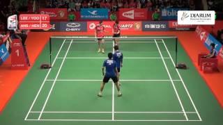 Mohammad Ahsan/Hendra Setiawan (Indonesia) VS Lee Yong Dae/Yoo Yeon Seong (Korea)