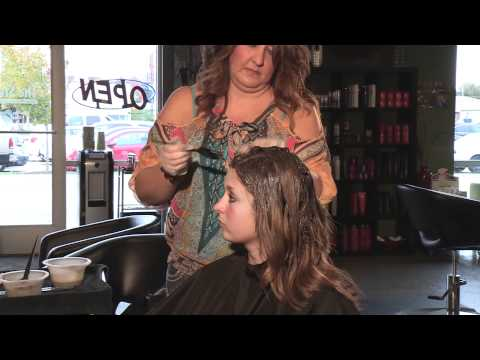 Ombre Hair Color Before and After- With Melissa From The Studio Salon, Photography and Day Spa
