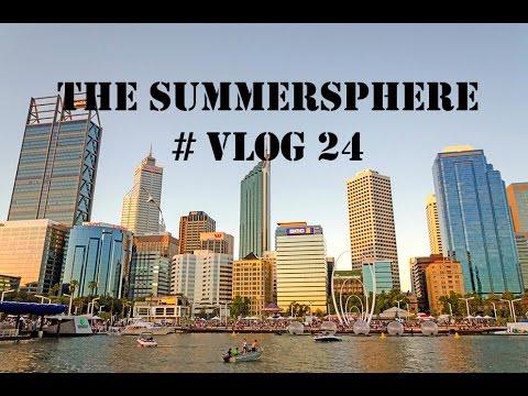 TRAVEL AUSTRALIA   PERTH Vlog 24 - Broken hard drive and 'Elizabeth Quays'