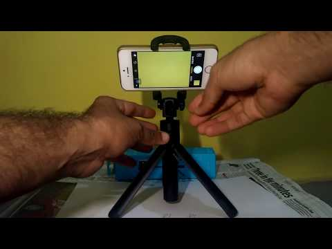 Unboxing Huawei Selfie Stick AF14 Monopod With Tripod (Black) overview andTesting onIphone